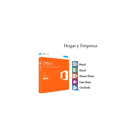 LICENCIA OFFICE HOME AND BUSINESS 2016 32/64 BITS